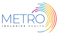 METRO Inclusive Health logo